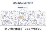 doodle vector illustration of... | Shutterstock .eps vector #388795510