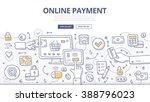 doodle vector concept... | Shutterstock .eps vector #388796023