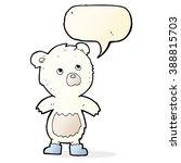 cartoon cute little bear with... | Shutterstock .eps vector #388815703