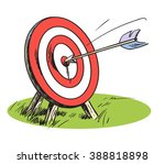 hand drawn vector illustration... | Shutterstock .eps vector #388818898