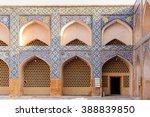jameh mosque of isfahan  iran.... | Shutterstock . vector #388839850