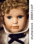 Face Porcelain Doll Girl With...
