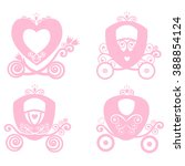 carriage princess cinderella... | Shutterstock .eps vector #388854124
