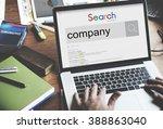 company organization firm... | Shutterstock . vector #388863040