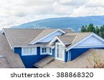 the top of the house with nice... | Shutterstock . vector #388868320