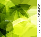 abstract background with green...   Shutterstock .eps vector #388874308