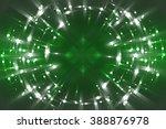 abstract fractal green... | Shutterstock . vector #388876978