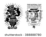 vector illustration label... | Shutterstock .eps vector #388888780