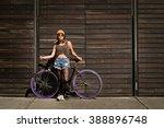 Horizontal Shot Young Latin Woman - Fine Art prints