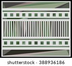 low polygon triangle pattern...   Shutterstock . vector #388936186