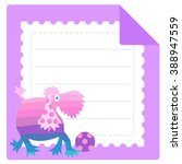 Greeting Card For Kids. Color...
