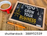 grow your business | Shutterstock . vector #388952539