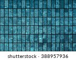 bright abstract mosaic blue... | Shutterstock . vector #388957936