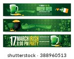 happy saint patrick's day.... | Shutterstock .eps vector #388960513