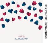 'love Is All Around You ' Card...