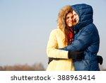 outdoor portrait of young... | Shutterstock . vector #388963414