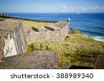 Fort In Old San Juan  Puerto...