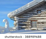 Cottage On Snowy Mountain On A...
