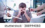 composite image of businessman... | Shutterstock . vector #388994083