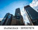 high building japan | Shutterstock . vector #389007874