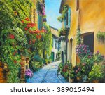 Art Oil Painting Picture Flowe...