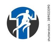 run logo vector.