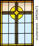 stained glass from inside a...   Shutterstock . vector #38903671