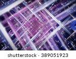 abstract  violet fractal... | Shutterstock . vector #389051923