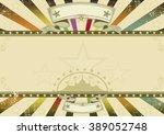 horizontal background retro... | Shutterstock .eps vector #389052748