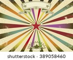 a horizontal retro background... | Shutterstock .eps vector #389058460
