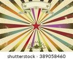 a horizontal retro background... | Shutterstock .eps vector #389058460