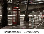 Typical Red Telephone Box In...