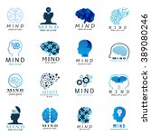 mind icons set   isolated on... | Shutterstock .eps vector #389080246