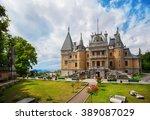 massandra palace in crimea | Shutterstock . vector #389087029