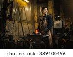 Cool Blacksmith Portrait In...