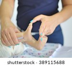pediatric neurologic examination | Shutterstock . vector #389115688