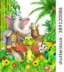 3d rendered illustration of... | Shutterstock . vector #389120086