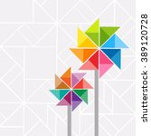 Vector Pinwheel Elements With...