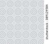 grey eyelet circle pattern | Shutterstock . vector #389129584