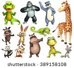 3d rendered illustration of... | Shutterstock . vector #389158108