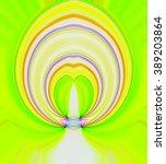stripes  colorful laser oval...   Shutterstock . vector #389203864
