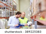 wholesale  logistic  people and ... | Shutterstock . vector #389225383