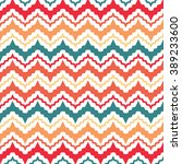 popular vintage zigzag chevron... | Shutterstock .eps vector #389233600
