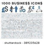 1000 business vector icons.... | Shutterstock .eps vector #389235628