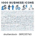 1000 business vector icons.... | Shutterstock .eps vector #389235763