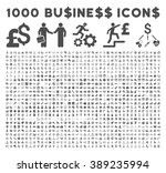 1000 business  bank  trade... | Shutterstock .eps vector #389235994