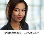 horizontal headshot of an...   Shutterstock . vector #389253274