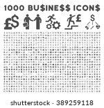 1000 business glyph icons.... | Shutterstock . vector #389259118