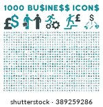 1000 business glyph icons.... | Shutterstock . vector #389259286