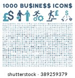 1000 business glyph icons.... | Shutterstock . vector #389259379